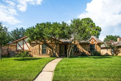 Lewisville Single Family Home Active Option Contract: 1357 Evergreen Drive