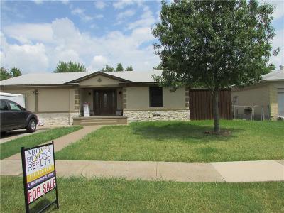 Carrollton Single Family Home For Sale: 1019 Noble Avenue
