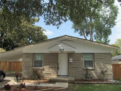 Irving Single Family Home For Sale: 609 W 8th Street