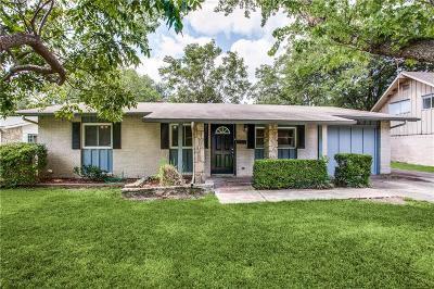 Richardson Single Family Home For Sale: 813 Brentwood Lane