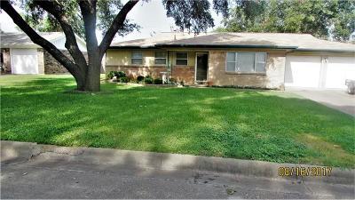 Benbrook Single Family Home Active Option Contract: 1208 John Reagan Street
