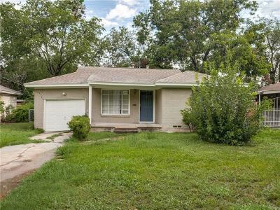 Single Family Home For Sale: 3725 Bolivar Drive