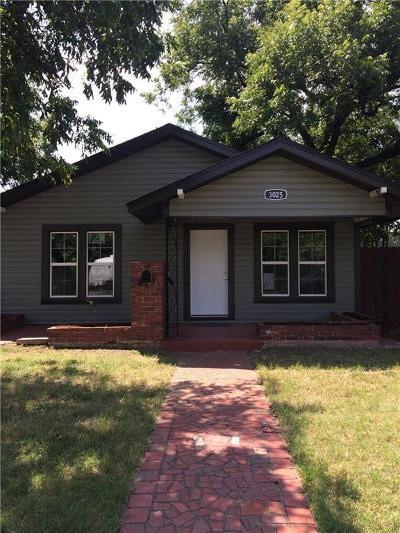 Abilene Single Family Home For Sale: 3025 S 11th Street