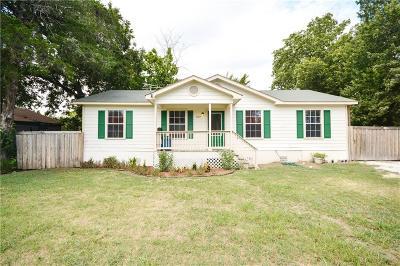 Waxahachie Single Family Home For Sale: 1007 Wyatt Street