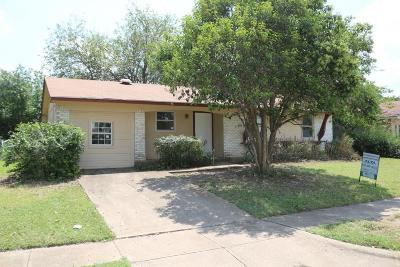 Dallas Single Family Home For Sale: 3410 Judge Dupree Drive