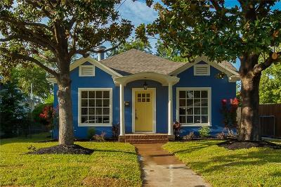 Fort Worth Single Family Home For Sale: 5117 Calmont Avenue