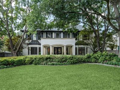 Dallas Single Family Home Active Option Contract: 5349 Drane Drive