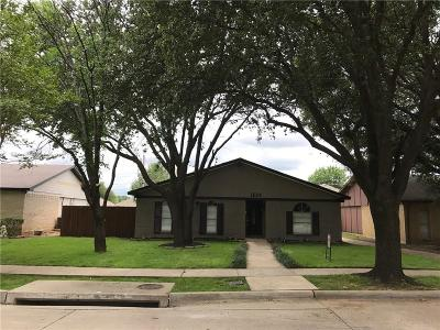 Lewisville Single Family Home For Sale: 1526 Camelia Drive
