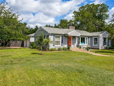 Dallas Single Family Home For Sale: 9207 Forest Hills Boulevard