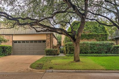 Dallas Townhouse For Sale: 12060 Tavel Circle