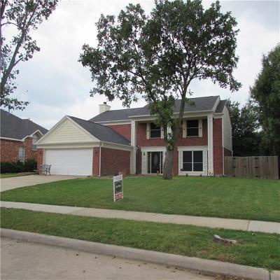 Grand Prairie Single Family Home For Sale: 4513 Forsyth Lane