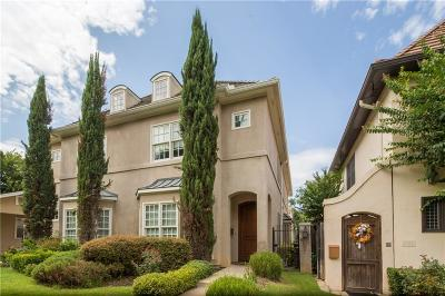 Dallas, Fort Worth Townhouse For Sale: 3328 W 6th Street