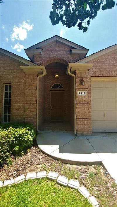 Fort Worth Single Family Home For Sale: 2712 Evening Shade Drive