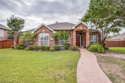 Rowlett Single Family Home For Sale: 4001 Watersedge Drive