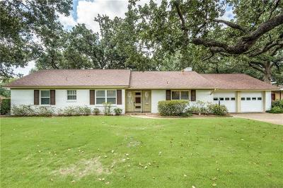 Irving Single Family Home For Sale: 1908 Briarwood Lane