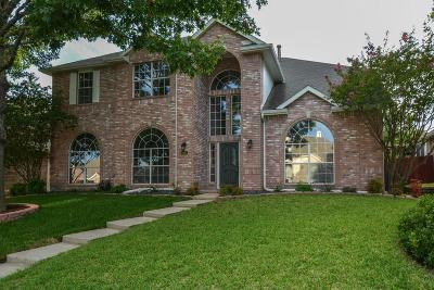 Carrollton Single Family Home For Sale: 3607 Chimney Rock Drive