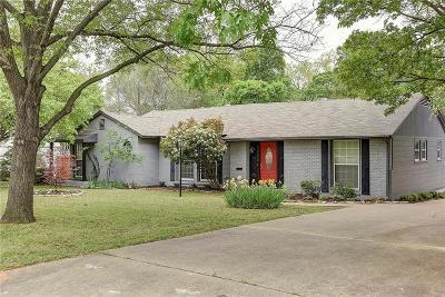 Dallas Single Family Home For Sale: 1223 Tranquilla Drive