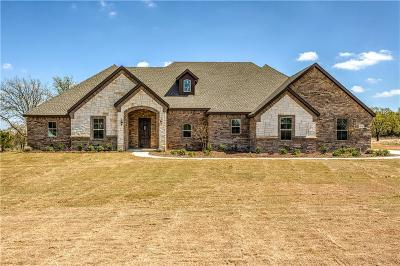 Springtown Single Family Home For Sale: 8130 Old Springtown Road