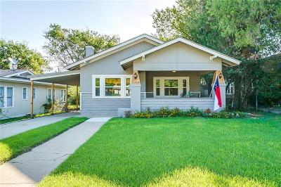 Fort Worth Single Family Home For Sale: 2317 Western Avenue