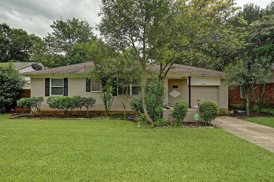 Richardson Single Family Home For Sale: 621 Ridgedale Drive