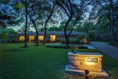 Dallas Single Family Home For Sale: 10734 Lanett Circle