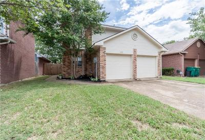 Lewisville Single Family Home Active Option Contract: 1355 Mimosa Lane