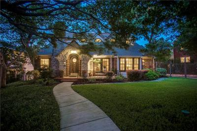 Dallas Single Family Home For Sale: 1010 N Montclair Avenue