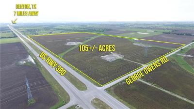 Ponder Farm & Ranch For Sale: Tbd W Us 380