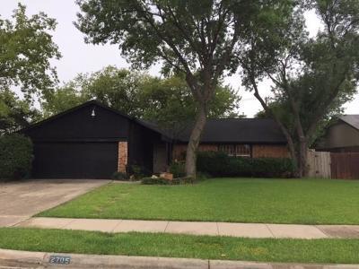 Carrollton Single Family Home For Sale: 2705 Elk Grove Road