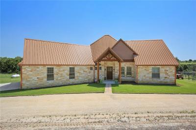 Stephenville Single Family Home For Sale: 215 Meandering Hills