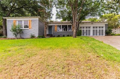 Fort Worth Single Family Home For Sale: 3555 Cromart Court S
