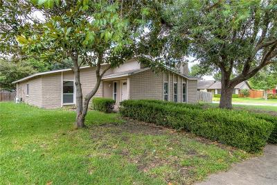 Garland Single Family Home For Sale: 3401 Post Oak Road
