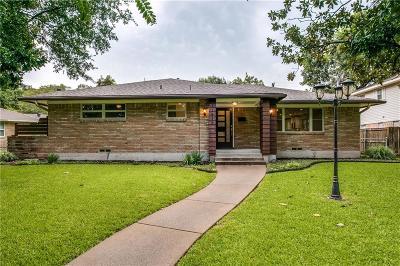 Dallas Single Family Home For Sale: 11836 Duxbury Drive