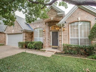 Addison Single Family Home Active Option Contract: 14608 Dartmouth Court