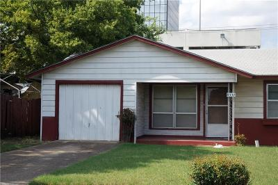Single Family Home For Sale: 8337 Bunche Drive
