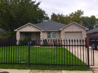 Dallas Single Family Home For Sale: 1335 Caldwell Street