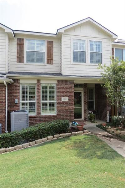 McKinney Townhouse For Sale: 2220 Stonepark Place