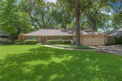 Fort Worth Single Family Home For Sale: 3200 Tanglewood Trail