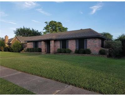 Mesquite Single Family Home Active Option Contract: 610 Rosedown Lane