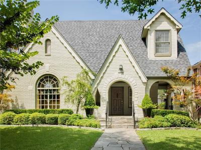 University Park Single Family Home For Sale: 4044 Stanford Avenue