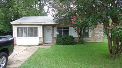 Dallas Single Family Home For Sale: 3733 Lovingood Drive