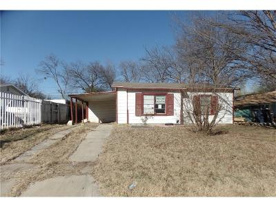 Fort Worth Single Family Home For Sale: 4109 Reed Street