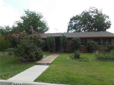 Fort Worth Single Family Home For Sale: 5451 Rutland Avenue