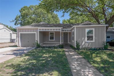 Dallas Single Family Home For Sale: 1323 W Illinois Avenue
