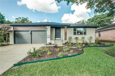 Dallas Single Family Home For Sale: 2517 Dorrington Drive