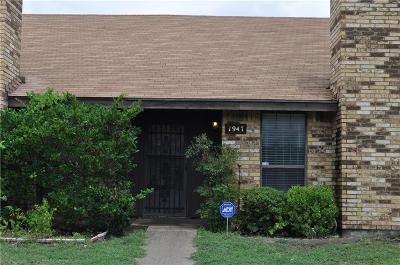 Dallas Townhouse For Sale: 1947 Abshire Lane