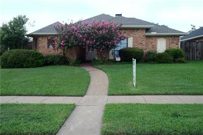 Garland Single Family Home For Sale: 2861 Stoneridge Drive