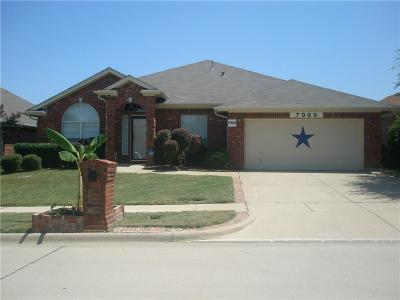 Arlington Single Family Home For Sale: 7909 Desert Rose Court