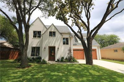 Dallas Single Family Home For Sale: 9902 Lakemont Drive