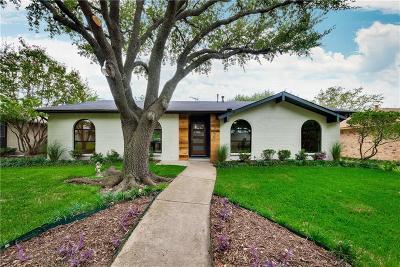 Dallas Single Family Home Active Option Contract: 10908 Villa Haven Drive